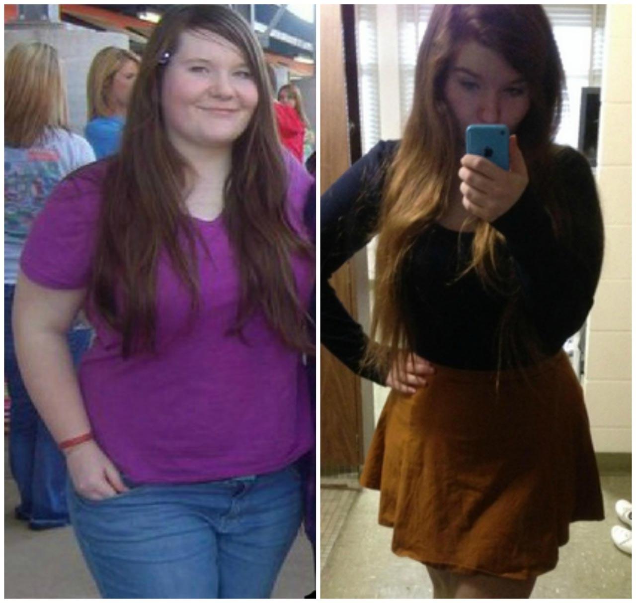 laura pierde în greutate